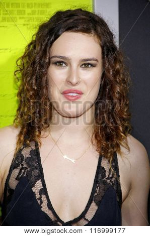 Rumer Willis at the Los Angeles premiere of