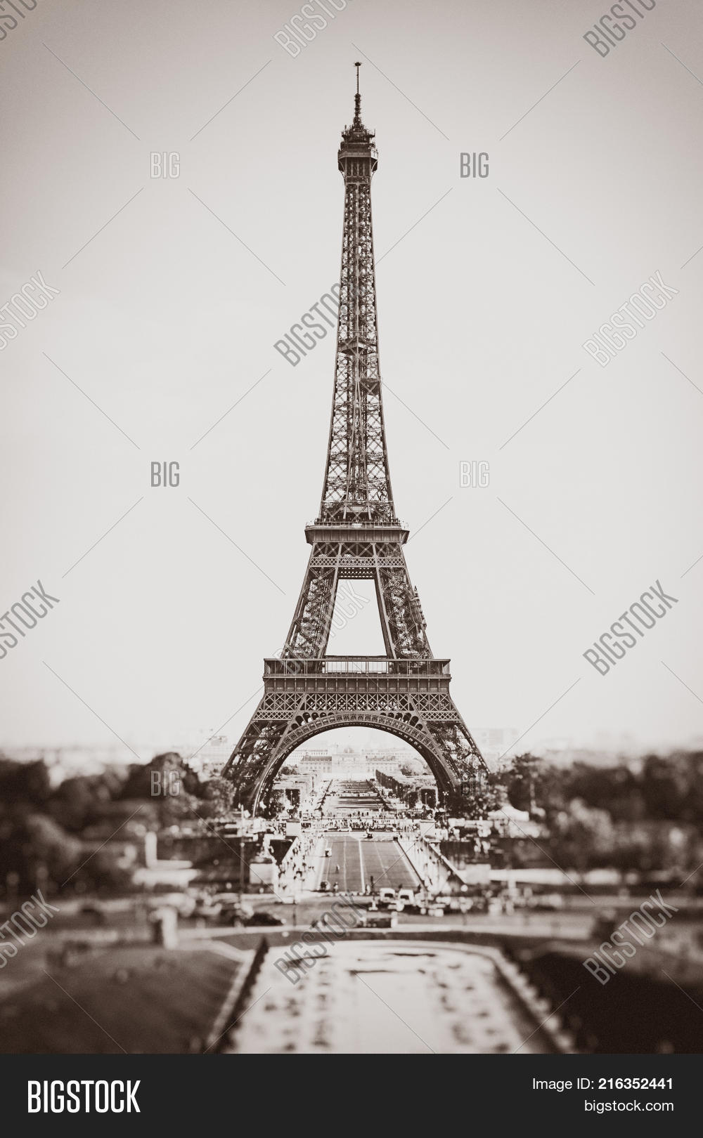 Eiffel Tower Paris Image & Photo (Free Trial)   Bigstock