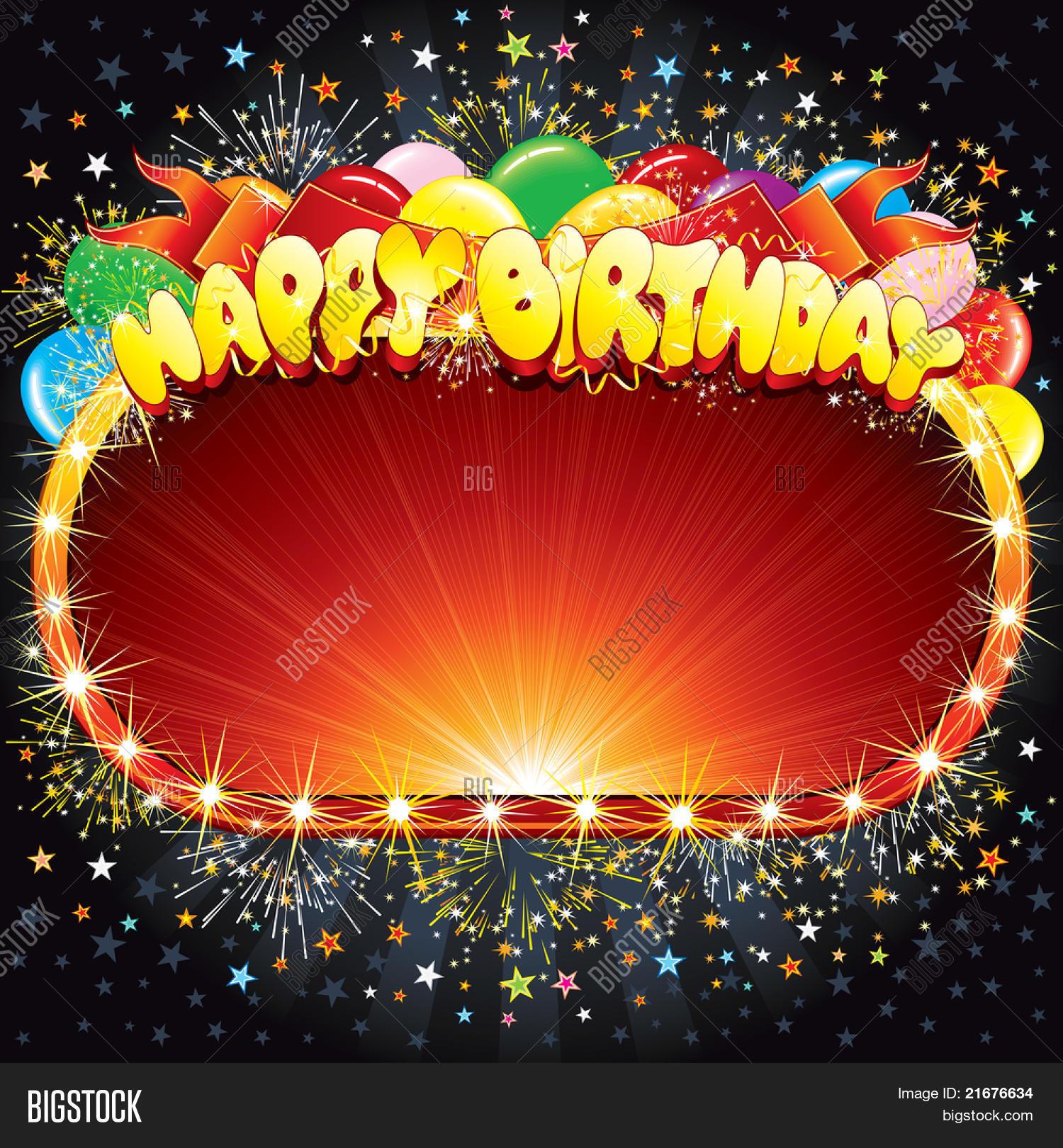 Happy Birthday Vector Vector & Photo (Free Trial)