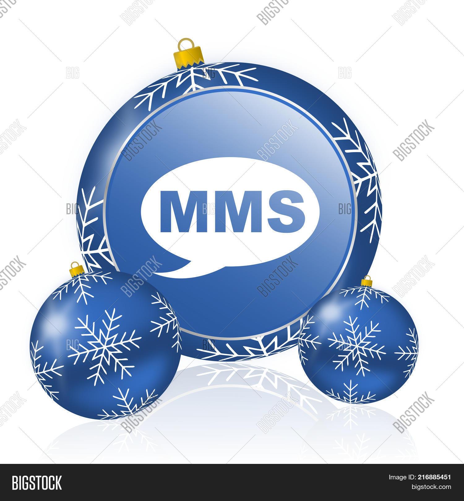 Mms Blue Christmas Image & Photo (Free Trial) | Bigstock