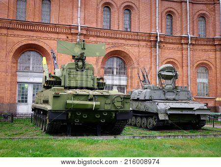 Military Museum In St. Petersburg, Russia
