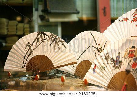 Traditional Artworks In An Insadong Suvniershop
