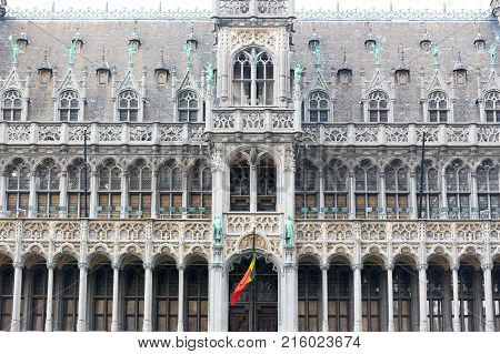 Brussels, Belgium - April 22, 2017: The Museum of the City of Brussels is a museum on the Grand Place in Brussels, Belgium.