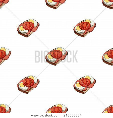 Sandwiches, single icon in cartoon style.Sandwiches, vector symbol stock illustration .