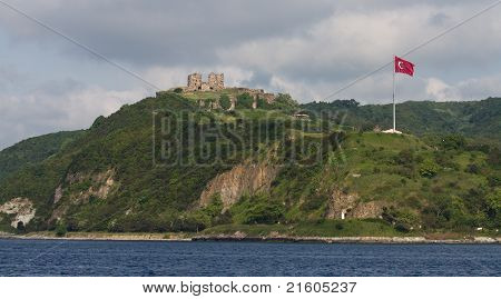 Medieval Fortress At The Bosphorus