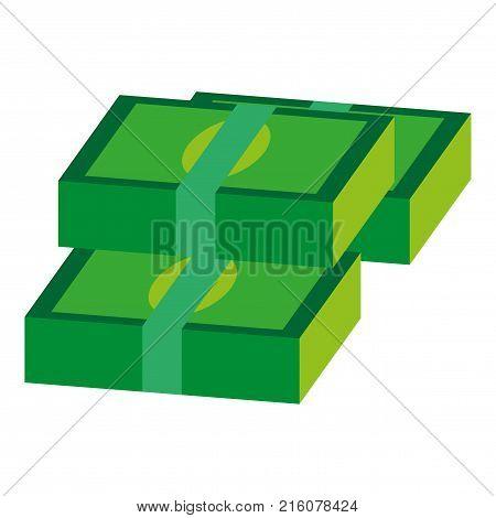 flat icon on theme Arabic business bundles of money