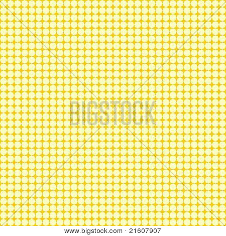 Grid texture with light yellow octagons