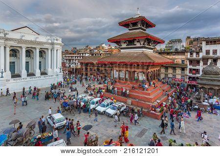Square Durbar In  Patan, Ancient City In Kathmandu Valley