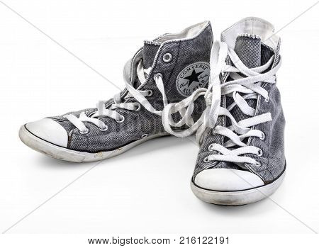 Converse Shoes Isolated