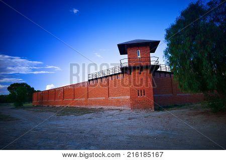 Prison Watch Tower at Historic Gaol Australia