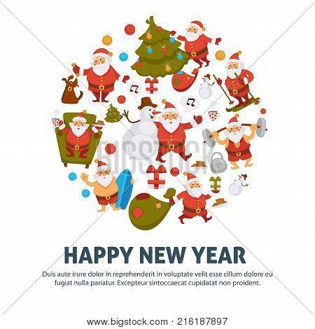 Happy New Year Vector & Photo (Free Trial)   Bigstock
