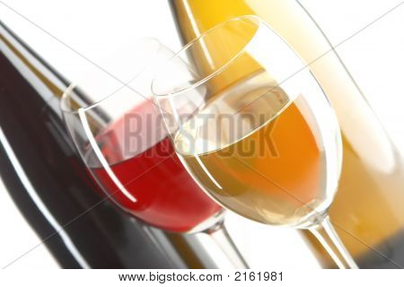 Still Life With Red And White Wines