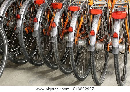 Bike Sharing In A Cheap System To Visit The City Without Parking Problems And In An Ecologically