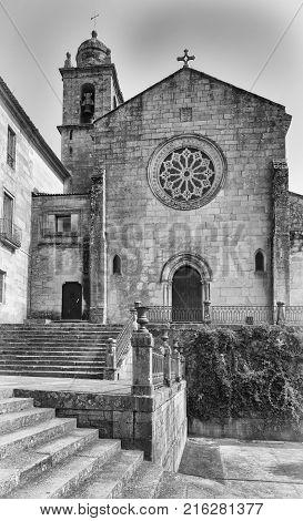 Old Monastery de San Francisco, sights of Pontevedra on the Camino de Santiago trail, Spain