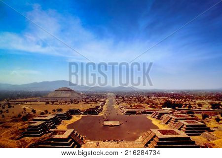 Teotihuacan is a vast Mexican archaeological complex northeast of Mexico City