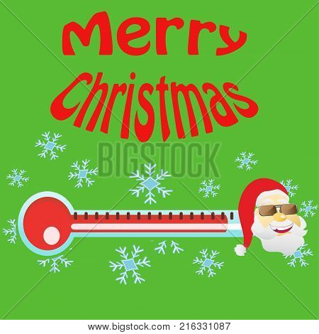 the design of Christmas is coming card for Xmas holiday