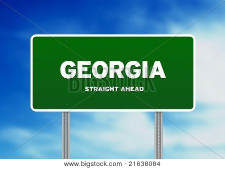 Georgia Highway Sign