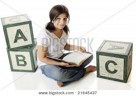 Reading Among The Alphabet