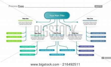 Tree Chart Five Vector & Photo (Free Trial) | Bigstock