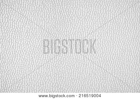 Black and white texture of imitation leather