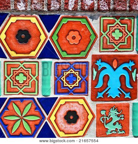 Colorful Ceraminc Tiles