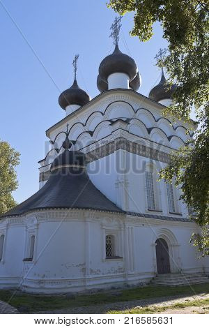 Church of the Saviour Merciful in the city of Belozersk Vologda region, Russia