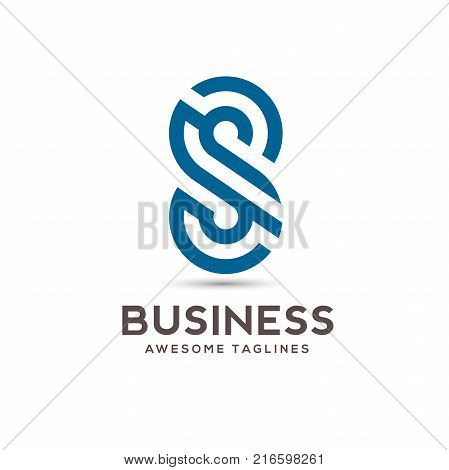 Abstract letter S logo, letter S lines alphabet symbol Vector illustration,best Letter S geometric vector logo symbol, letter S concept Vector template , S letter logo design
