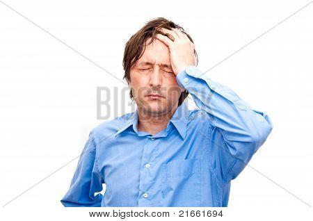 Businessman Stressed