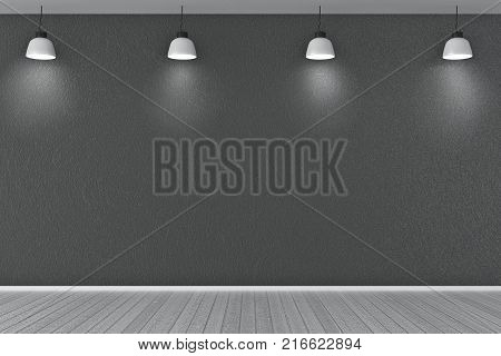 Wood table top with burry window and forest view in the background. Product placement advertising concept. poster