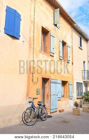 Village Gruissan in French languedoc-Roussillon