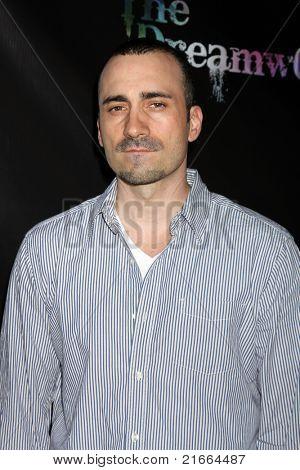 LOS ANGELES - 6 de JUL: Jay Giannone chegando no Dreamworld Benefit Concert para cair pios um