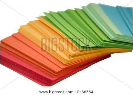 Multi-Colored Note Papers