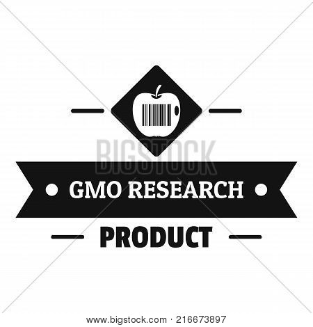 Gmo product logo. Simple illustration of gmo product vector logo for web