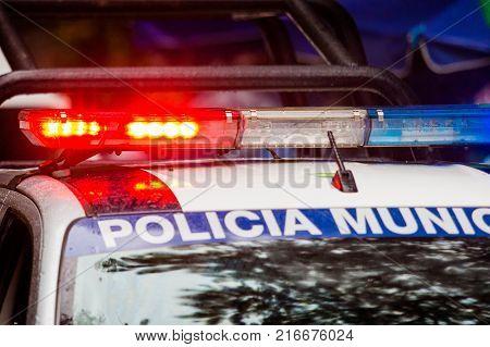 Emergency Police Car