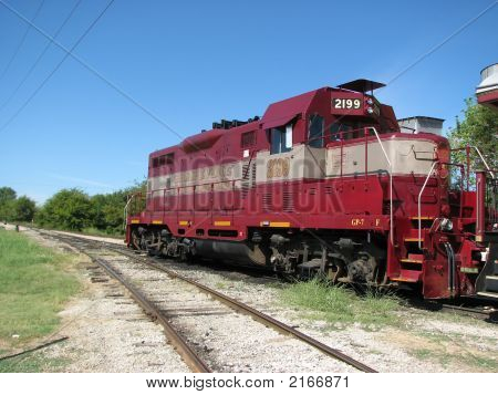 Vintage Tourist Sight Seeing Steam Engine