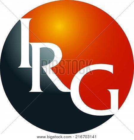Modern Logo Solution Letter I R G Modern Logo Solution Letter I R G