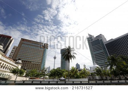 General views of Kuala Lumpur city scape in Kuala Lumpur December 3 2017.