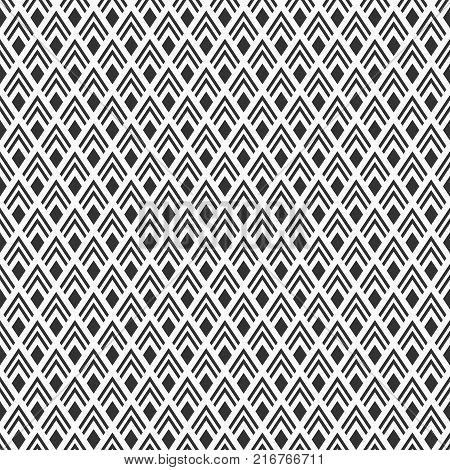 Modern Seamless Geometry Pattern.
