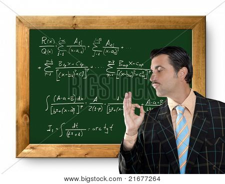 mathematical formula genius tacky geek easy resolve positive gesture