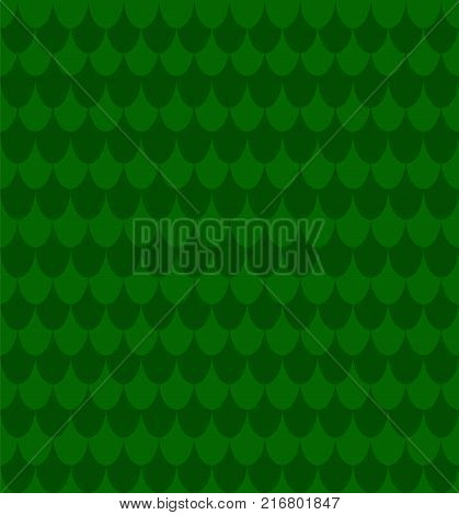 green fish snake scale skin simple seamless pattern vector backgoround