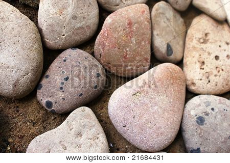 Smooth pebbles