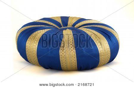 Blue Oriental Pillow