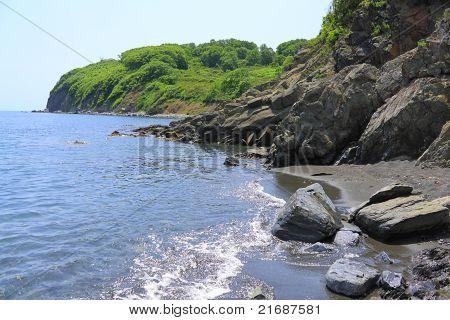 Coast Sea Of Japan
