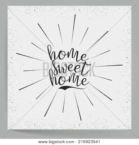Hand Lettering Typography Poster Calligraphic Quote Typographic Design For