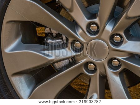 Shinny Chrome Aluminum Wheel