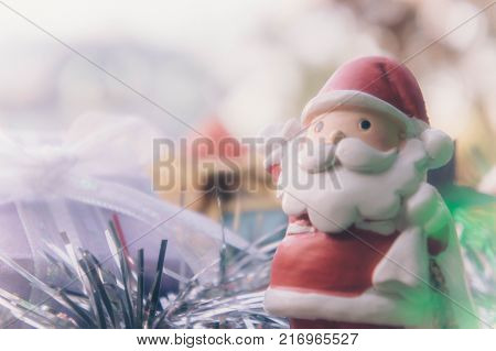 santa claus and chirstmas background for chirstmas day