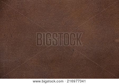 Texture of brown artificial leather. Imitation leather, Leatherette