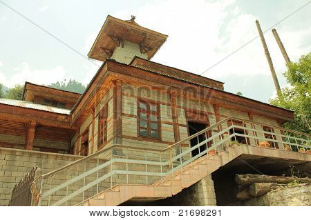 Manu Temple in Manali,Himachal Pradesh, India