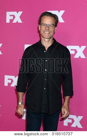 LOS ANGELES - AUG 6:  Guy Pearce at the FX Networks Starwalk at Summer 2019 TCA at the Beverly Hilton Hotel on August 6, 2019 in Beverly Hills, CA