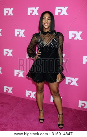 LOS ANGELES - AUG 6:  Mj Rodriguez at the FX Networks Starwalk at Summer 2019 TCA at the Beverly Hilton Hotel on August 6, 2019 in Beverly Hills, CA